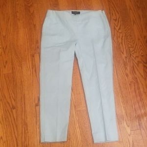NEW Talbots blue dress ankle pants 4P